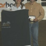 High Point and Reserve Open Class - Shaylene Gladstone (rsrv), Billy Gladstone (hi pt)