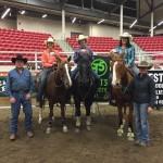 5 Class Champions - Jodi Fallis, Casdon Masse, Noah Morin