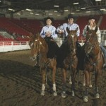 10 Class Reserve Champions - Joanne, Maurice and Ashley Lemeiux